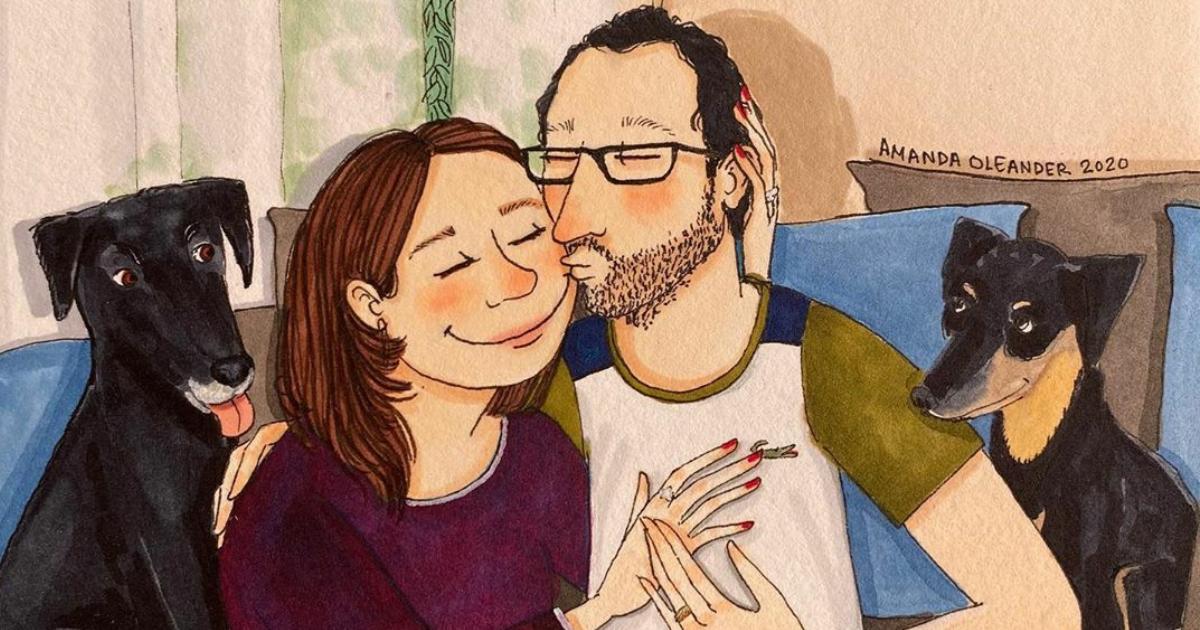 The Unspoken Side Of Long-Term Relationships Revealed In 70 Honest Illustrations By Amanda Oleander (New Pics)