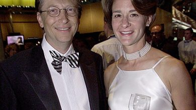 Bill and Melinda Gates in 2000, the year the tech mogul and billionaire began an affair with a female Microsoft engineer. The affair came to light in 2019 when the employee wrote to the Microsoft board