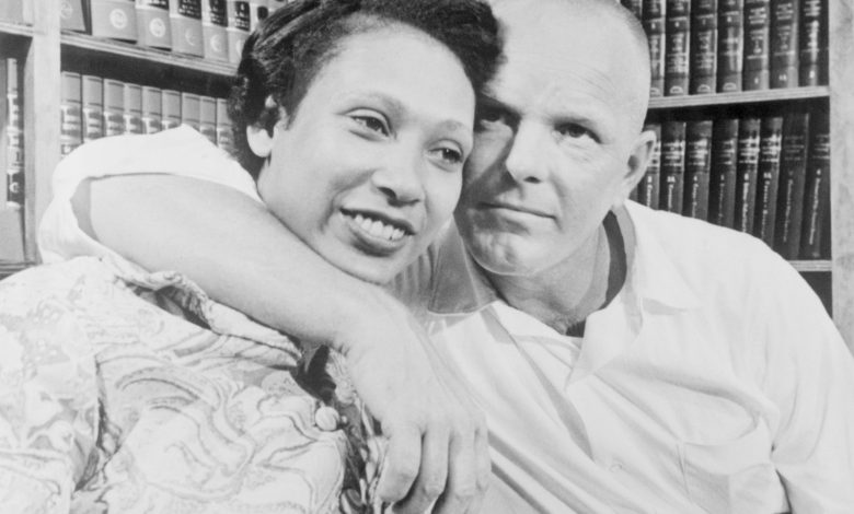Mildred and Richard Loving Pictured in 1967
