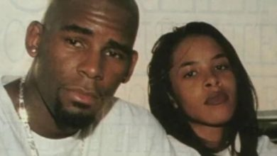 R. Kelly pictured here with Aaliyah from the 'Surviving R. Kelly' Lifetime documentary